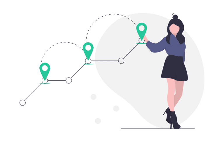 Customer Journey Header