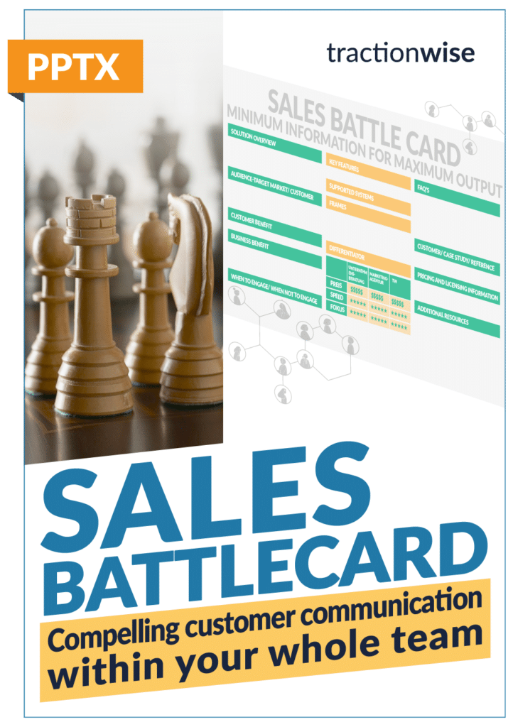 Sales Battle Card