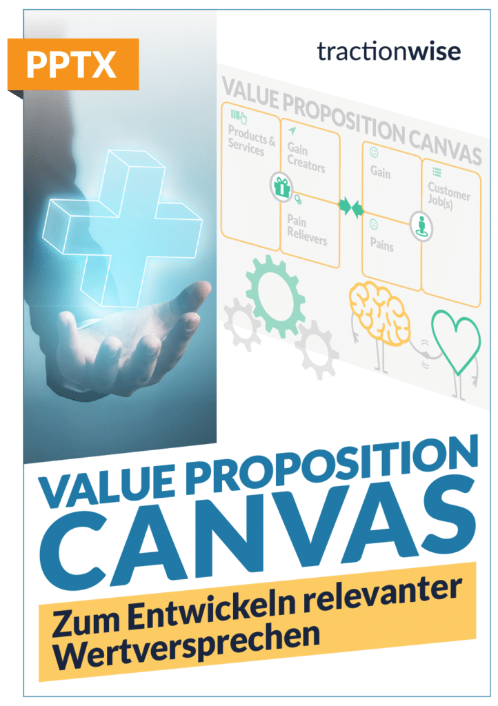 Value Propostion Canvas Product Tractionwise