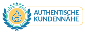 Authentische Kundennähe Siegel
