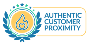 Authentic Customer Proximity Seal