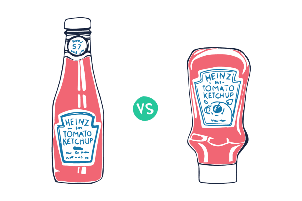 product-centrict-customer-centric-ketchup-bottle-tractionwise